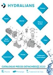 Catalogue pièces détachées HYDRALIANS 2020